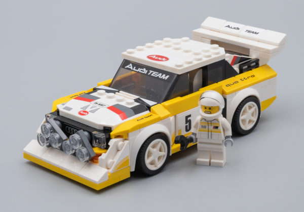 Très vite testé : LEGO Speed Champions 76897 1985 Audi Quattro S1