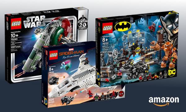 Chez Amazon : une (petite) sélection de sets LEGO à prix réduit