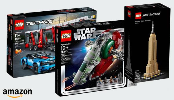 Chez Amazon : jusqu'à -25% (et plus) sur une sélection de sets LEGO