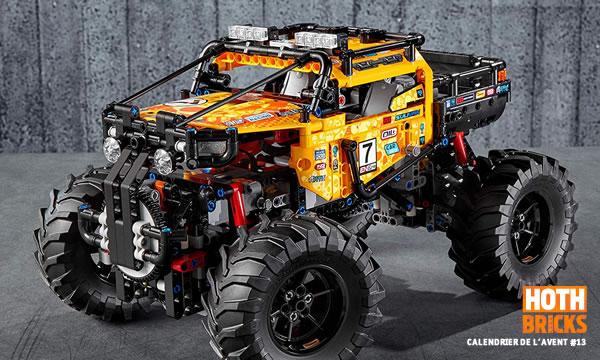 Calendrier de l'Avent #13 : Un set LEGO Technic 420994x4 X-treme Off-Roader à gagner !