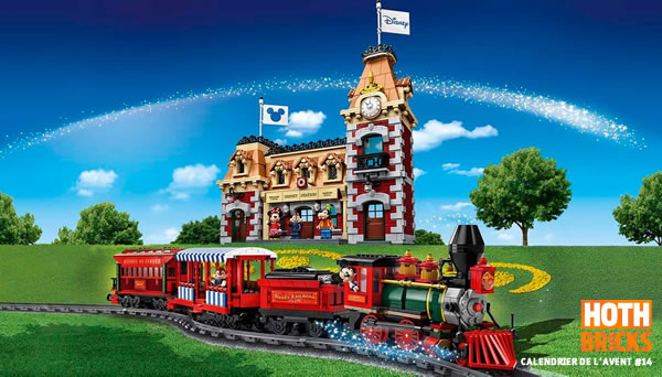 Calendrier de l'Avent #14 : Un set LEGO 71044 Disney Train and Station à gagner !