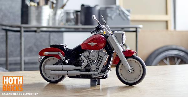 Calendrier de l'Avent #7 : Un set LEGO Creator Expert 10269 Harley-Davidson Fat Boy à gagner !
