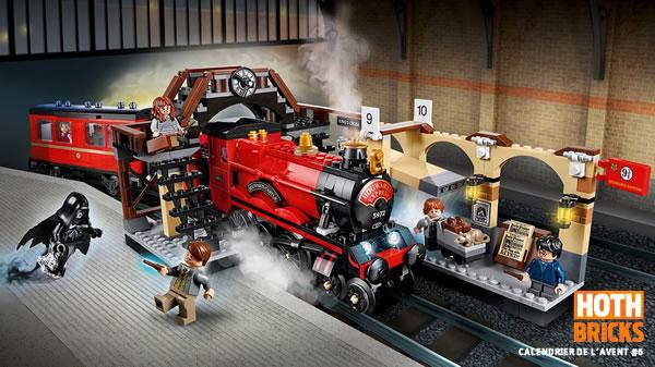Calendrier de l'Avent #6 : Un set LEGO Harry Potter 75955 Hogwarts Express à gagner !