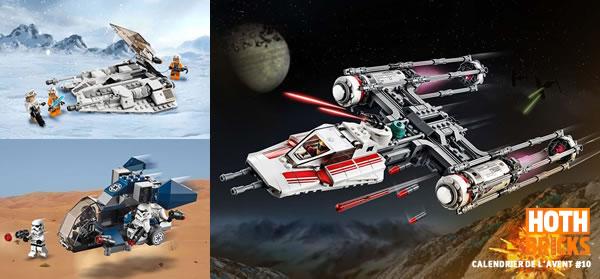 Calendrier de l'Avent #10 : Un lot de sets LEGO Star Wars à gagner !