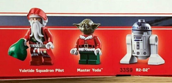 lego 4002109 candy xwing christmas present lego employees minifigs