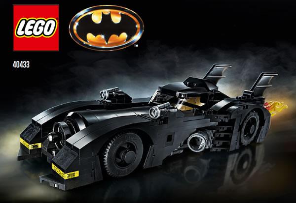 LEGO Batman 40433 1989 Batmobile Limited Edition