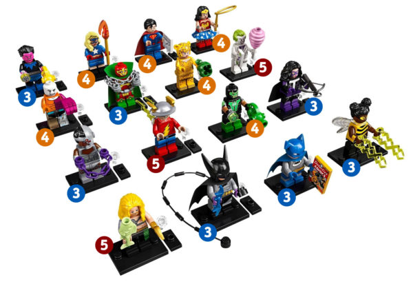 71026 LEGO DC Comics Collectible Minifigures Series