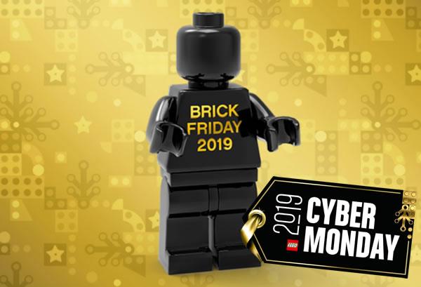 Dernière offre chez LEGO : une minifig exclusive Brick Friday 2019 offerte