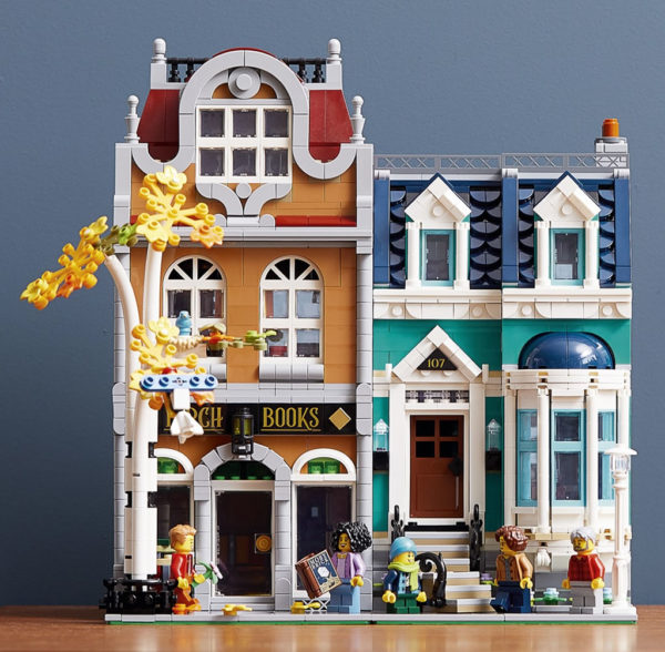 LEGO Creator Expert Modular 10270 Bookshop : premiers visuels
