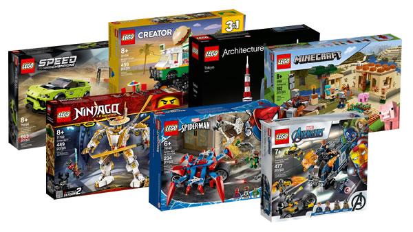 Sur le Shop LEGO : Toutes les nouveautés 2020 sont disponibles