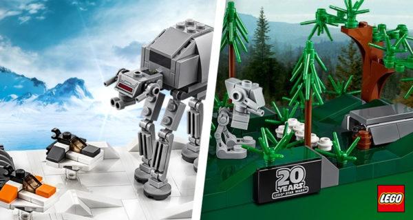 Uniquement dans les LEGO Stores : Deux sets collectors offerts pour l'achat du set LEGO Star Wars 75252 Imperial Star Destroyer