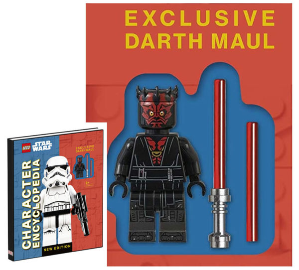 LEGO Star Wars Character Encyclopedia New Edition : Darth Maul sera la minifig exclusive