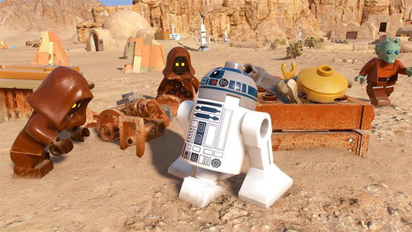 Jeu vidéo LEGO Star Wars La Saga Skywalker : nouveau teaser