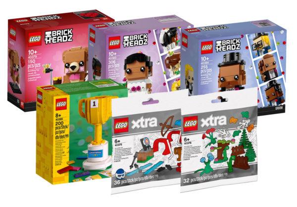 Nouveautés LEGO BrickHeadz & XTRA 2020 : encore des visuels officiels