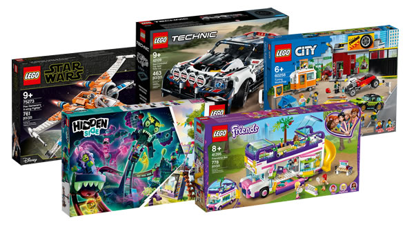Sur le Shop LEGO : Les nouveautés 2020 Star Wars, Technic, CITY, Friends et Hidden Side sont disponibles