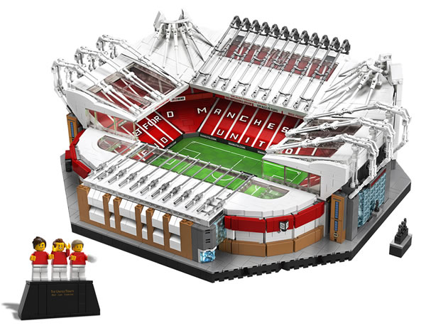 Sur le Shop LEGO : le set LEGO Creator Expert 10272 Old Trafford - Manchester United est disponible