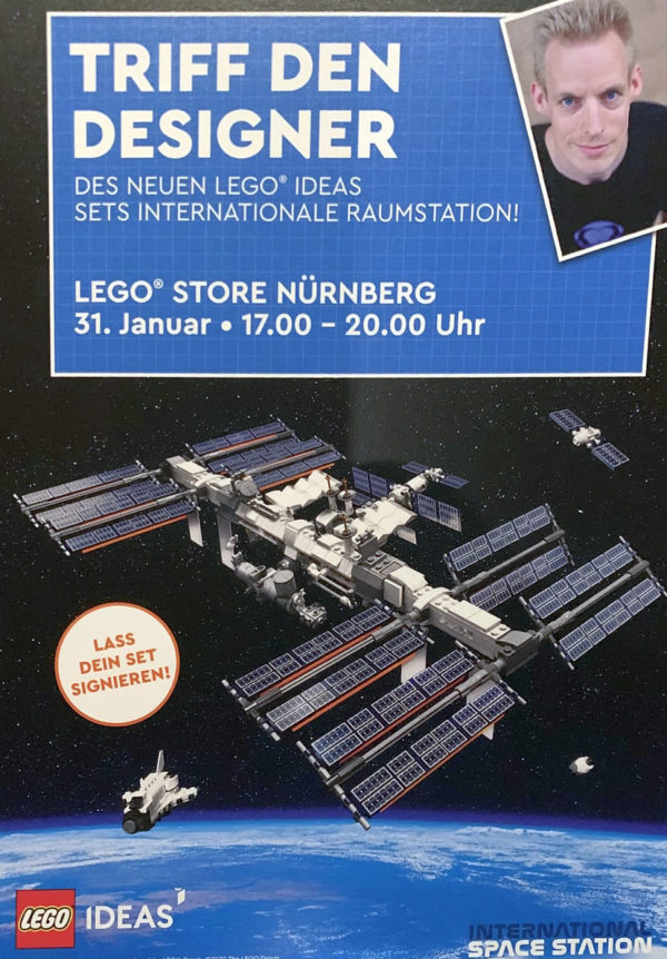LEGO Ideas 21321 International Space Station : premier visuel