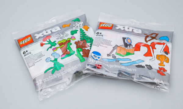 Très vite testé : LEGO XTRA 40375 Sports Accessories et 40376 Botanical Accessories