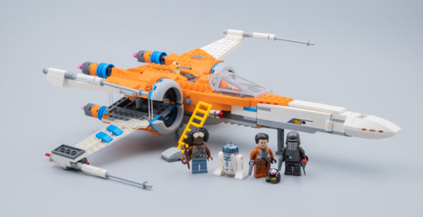 Vite testé : LEGO Star Wars 75273 Poe Dameron's X-Wing Fighter