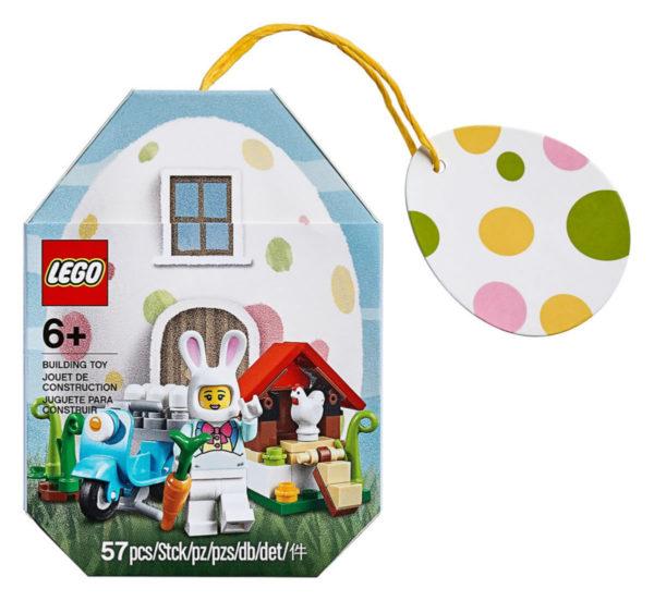 LEGO 853990 Easter Bunny : les visuels du prochain mini-set sur le thème de Pâques
