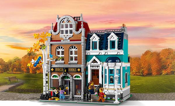 Concours : Un exemplaire du set LEGO Creator Expert 10270 Bookshop à gagner !