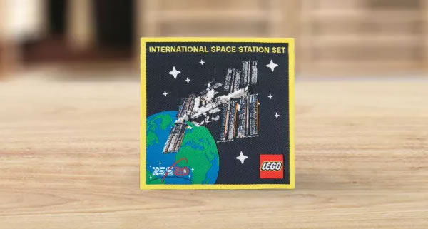 En février : Un patch exclusif offert pour l'achat du set LEGO Ideas 21321 International Space Station