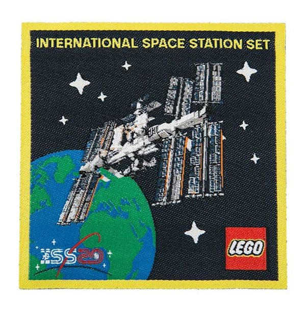 5006148 LEGO International Space Station Exclusive Patch
