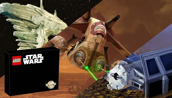 Le prochain set Ultimate Collector Series de la gamme LEGO Star Wars ? C'est vous qui décidez