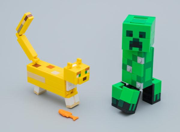 Très vite testé : LEGO Minecraft 21156 BigFig Creeper and Ocelot