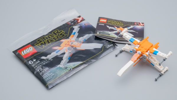 Très vite testé : LEGO Star Wars 30386 Poe Dameron's X-Wing Fighter