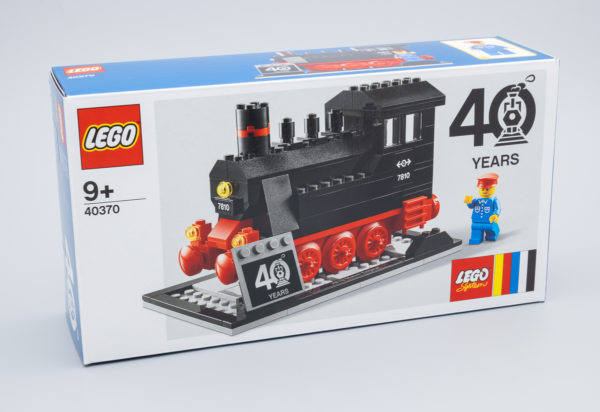 Très vite testé : LEGO 40370 40th Anniversary Steam Engine