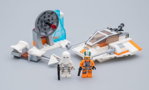 Très vite testé : LEGO Star Wars 75268 Snowspeeder