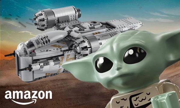 Chez Amazon : Le set LEGO Star Wars 75292 The Razor Crest déjà en précommande
