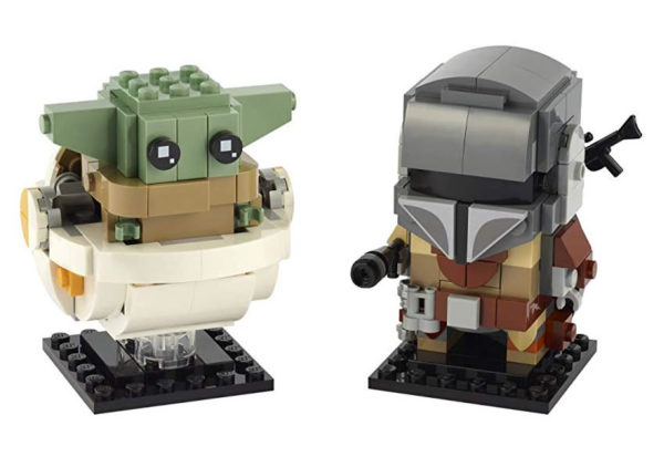 Nouveauté LEGO Star Wars BrickHeadz 2020 : 75317 The Mandalorian & The Child