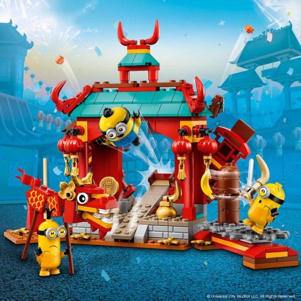 75550 Minions Kung Fu Battle