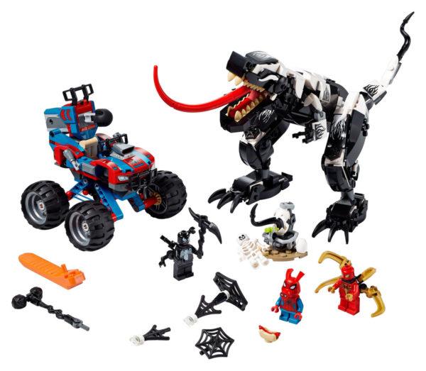 LEGO Marvel Spider-Man 76151 Venomosaurus Ambush