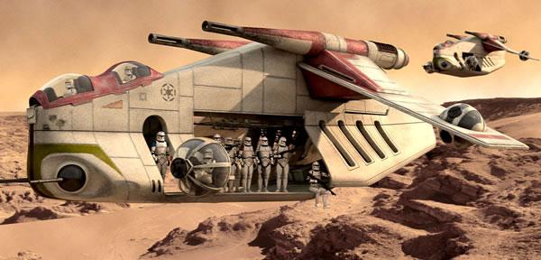 Vote des fans pour le prochain UCS LEGO Star Wars : Le Republic Gunship l'emporte !