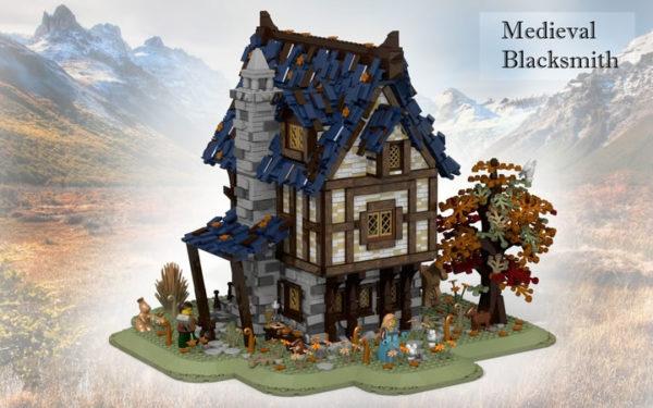 Prochainement dans la gamme LEGO Ideas : Medieval Blacksmith et Winnie The Pooh