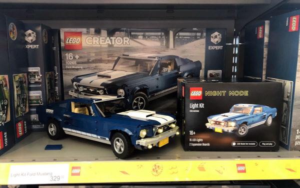 LEGO Night Mode : des kits d'éclairage LED officiels pour vos sets LEGO favoris