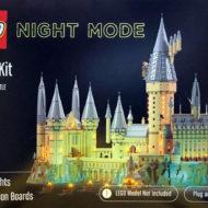 lego light kit night mode hogwarts castle