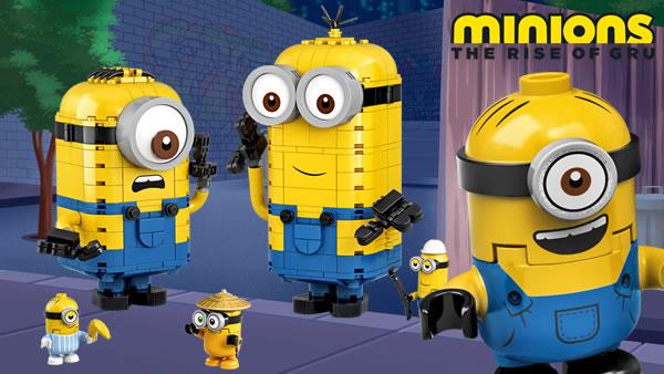 Nouveautés LEGO 2020 : Les Minions débarquent !