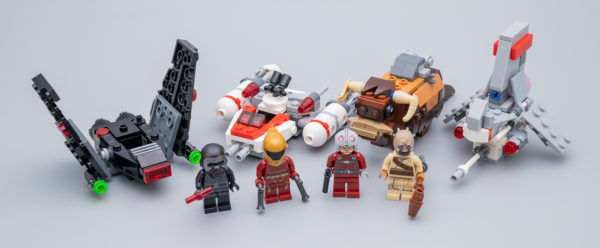 Très vite testé : LEGO Star Wars Microfighters 2020