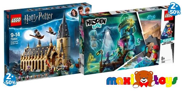 Chez Maxi Toys : 50% de réduction sur le 2ème set LEGO Harry Potter ou Hidden Side