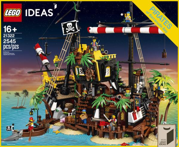 LEGO Ideas 21322 Pirates of Barracuda Bay : Tout ce qu'il faut savoir