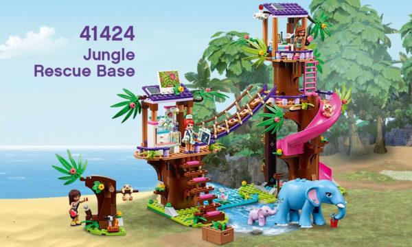 41424 Jungle Rescue Base