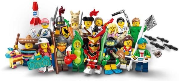 71027 LEGO Collectible Minifigures Series 20 : encore des visuels