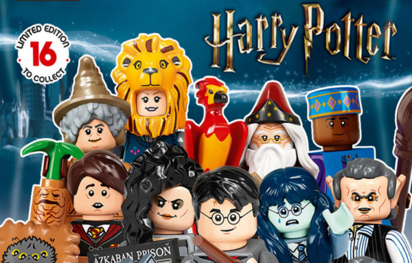 71028 LEGO Harry Potter Collectible Minifigures Series 2 : premier visuel de l'ensemble des personnages