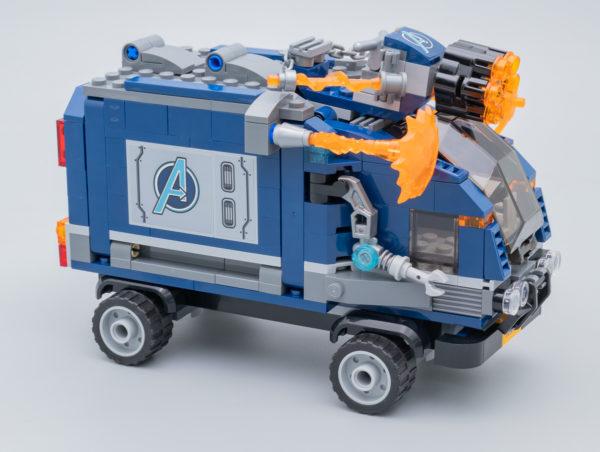 76143 Avengers Truck Take-down