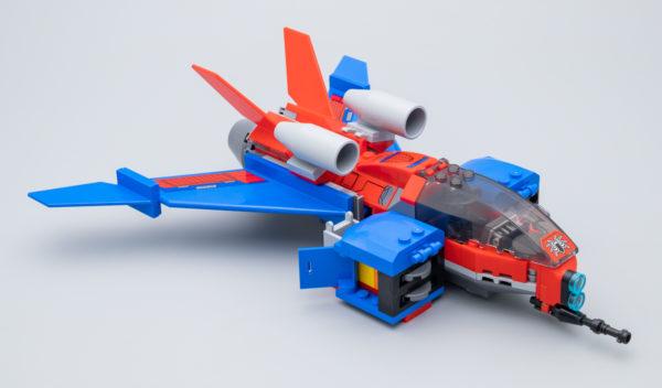 76150 Spiderjet vs. Venom Mech