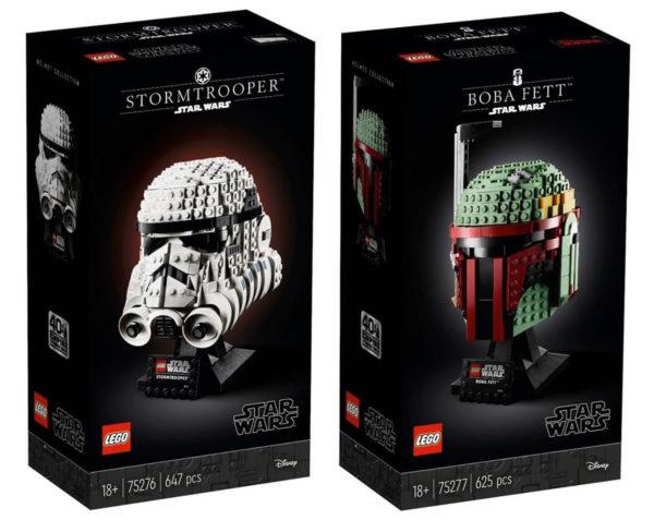 LEGO Star Wars 75276 Stormtrooper et 75277 Boba Fett
